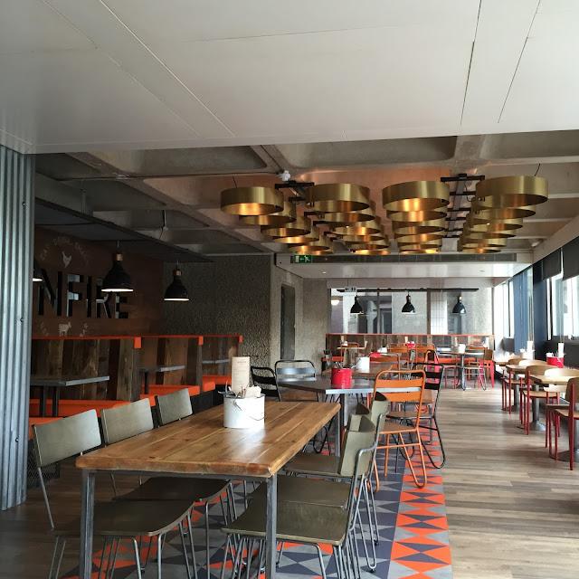 Bonfire Barbican Restaurant Review