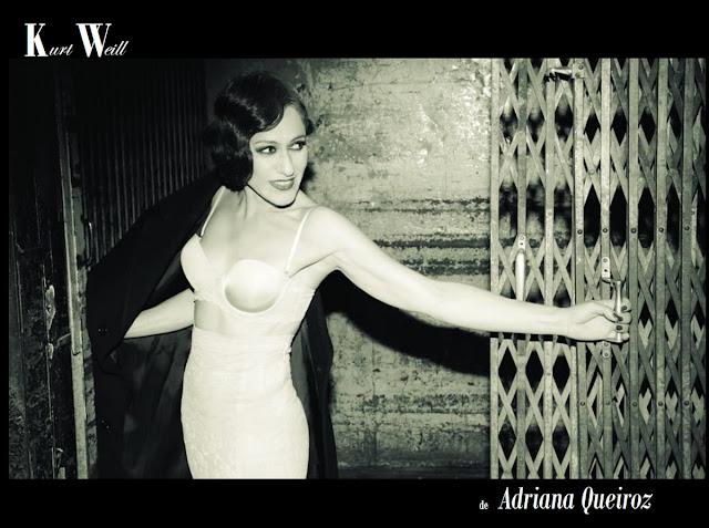 3 razões para ouvir Kurt Weill na voz de Adriana Queiroz
