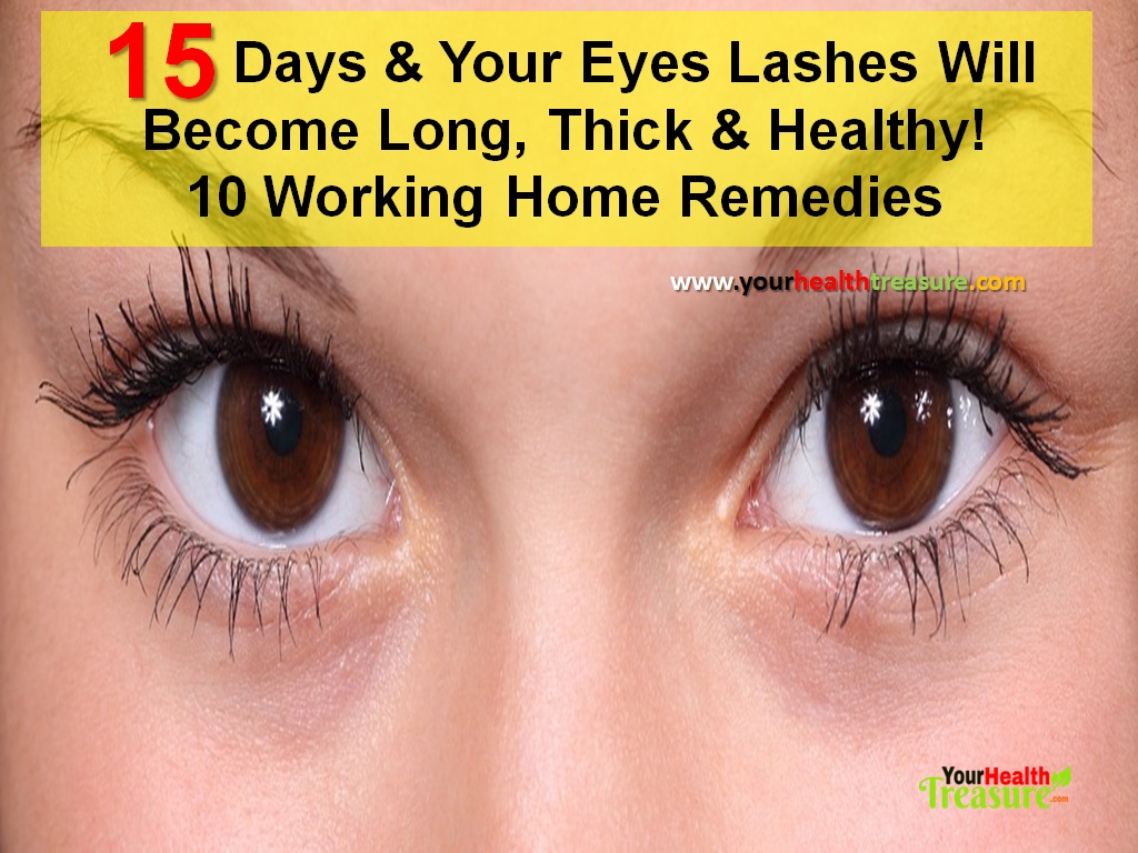 10 Ways To Grow Longer Eyelashes Fast Naturally In 15 Days Your