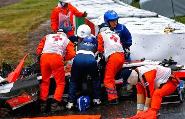 Jules Bianchi tem uma chance de 90% de chance de nunca mais recuperar a consciência