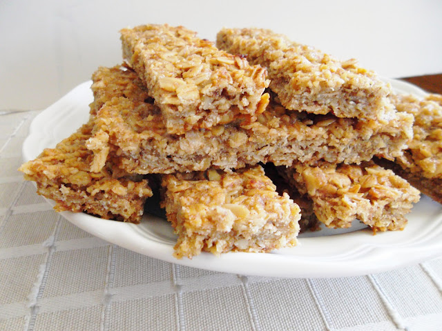 how to make basic granola bars