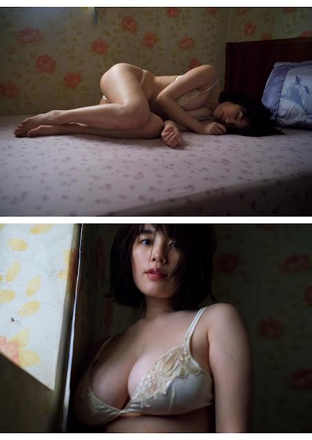 筧美和子 Miwako Kakei Weekly Playboy No 7 2018 Images