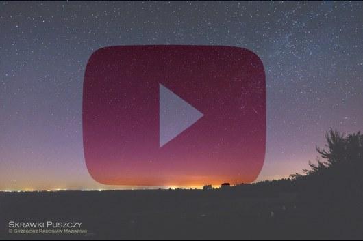 Time-lapse: zorza polarna w nocy z 05 na 06.06.2016 r. nad okolicami Mielca; województwo podkarpackie. Autor: Grzegorz Radosław Maziarski