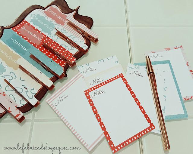 DIY: Organizador semanal