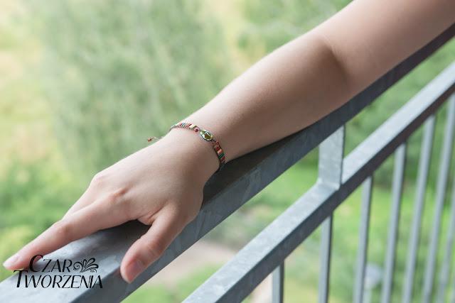ręcznie robiona biżuteria bransoletka wrocław