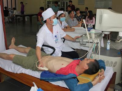 Siêu âm ổ bụng 3D cho công nhân Viglacera Việt Trì
