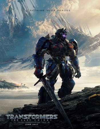 Transformers: The Last Knight 2017 English 450MB HDTC 480p