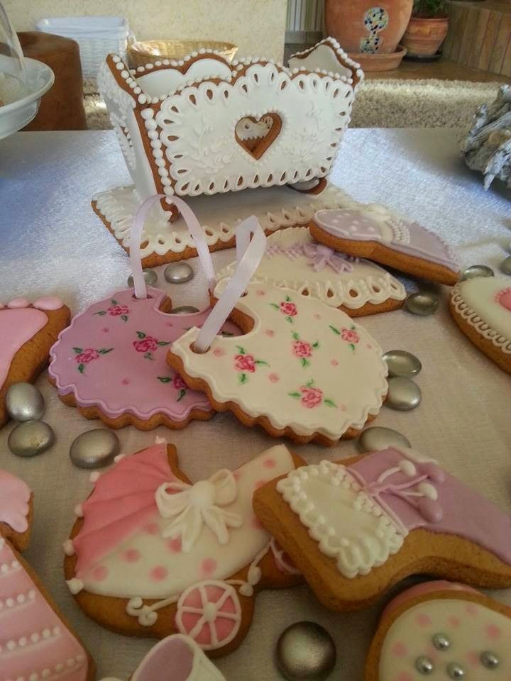 Baby shower set created by Kenyeres Aniko