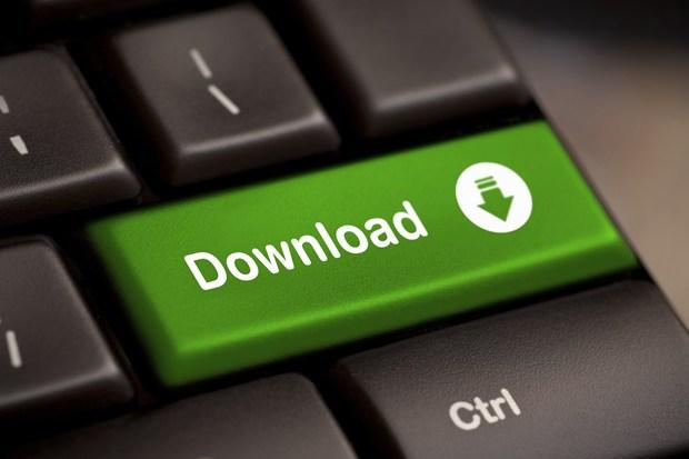Tombol Download Keren