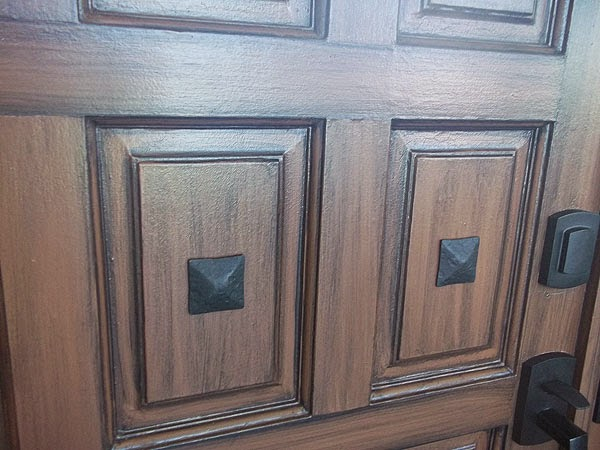 Clavos On Front Doors Everything I Create Paint Garage