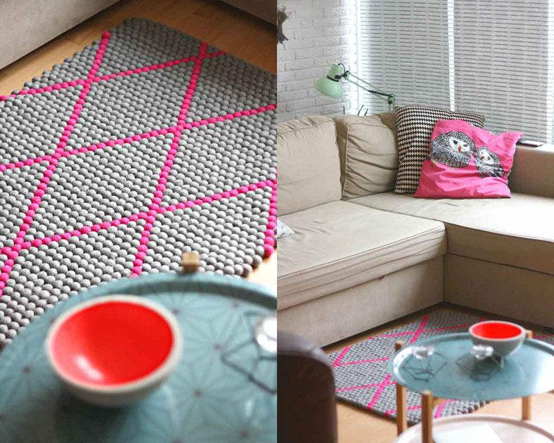 Decorar en familia: Alfombras artesanales Sukhi para nuestra casa10