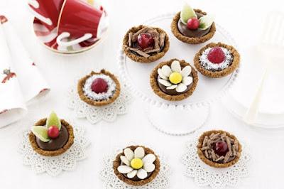 Butternut snap chocolate tartlets desserts recipes