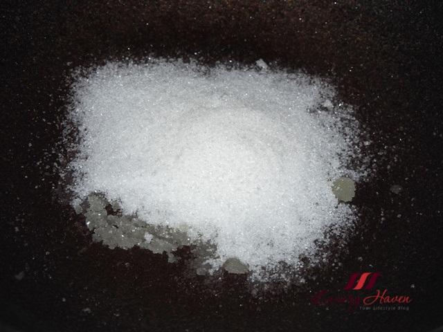 crystallized sugar sweet potato snacks