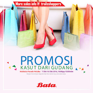 Bata Warehouse Sale at Mahkota Parade