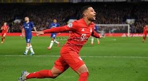 بايرن ميونخ يحقق انتصار كاسح خارج ملعبه علي تشيلسي بثلاثية في دوري أبطال أوروبا