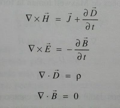 Ecuaciones de Maxwell en medios materiales