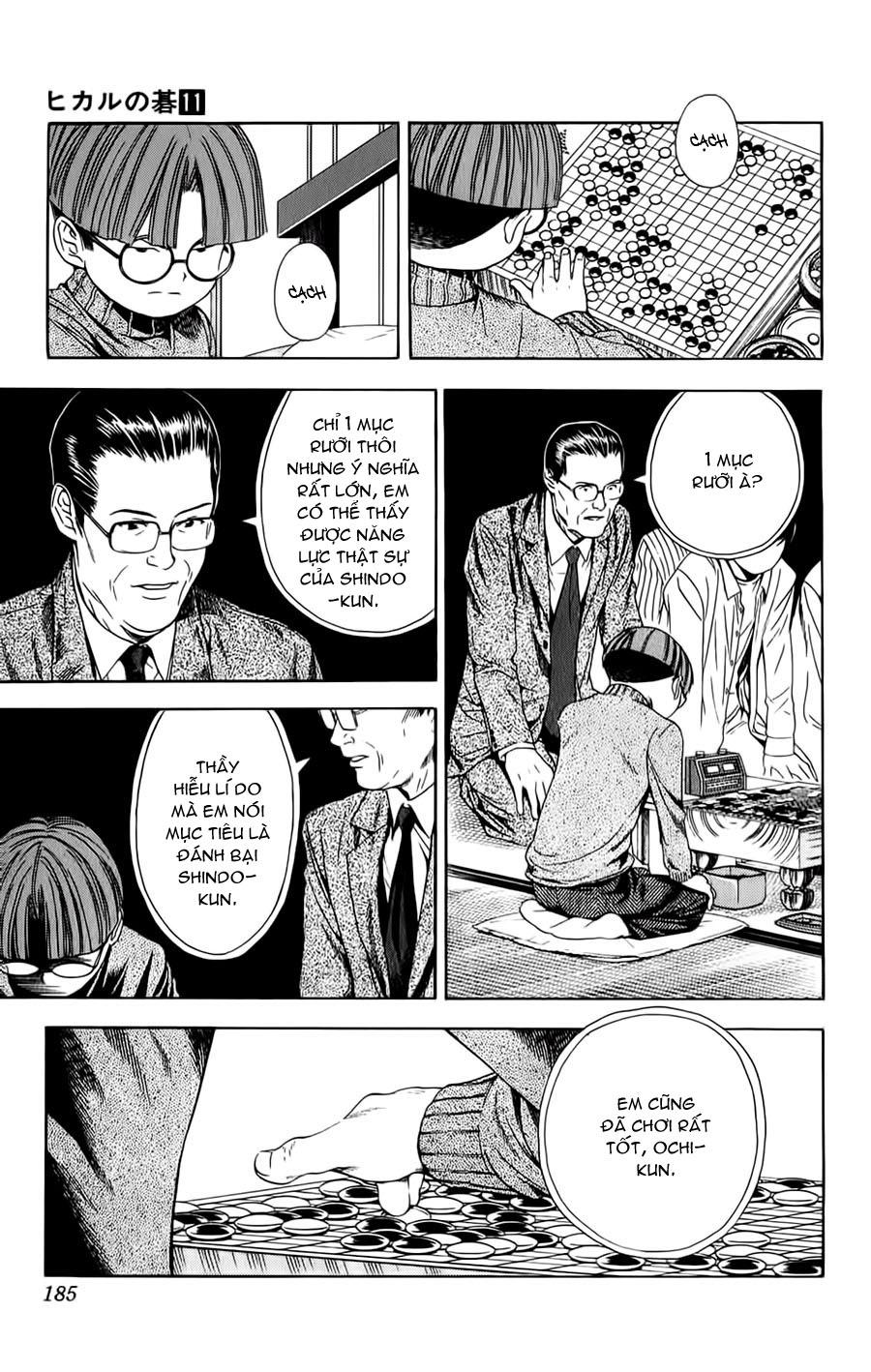 Hikaru No Go hikaru no go chap 96 trang 11