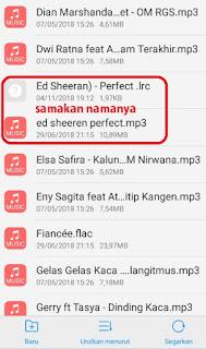 Cara Menampilkan Lirik Lagu di Pemutar Musik Pada HP Android Vivo