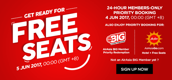 Air Asia Free Seat 2017 Flight Ticket Promo Booking Tips