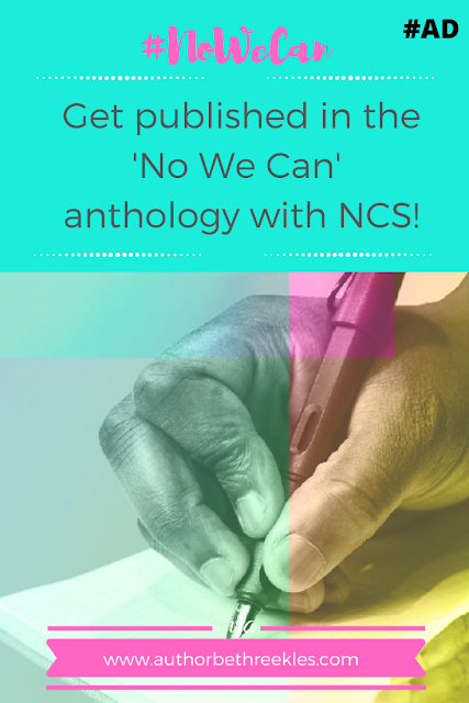 #Ad - I'm partnering with NCS in their No We Can short story competition, where you could get published! Let's take the world by storm.