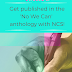 #Ad – Get published in the 'No We Can' anthology with NCS!