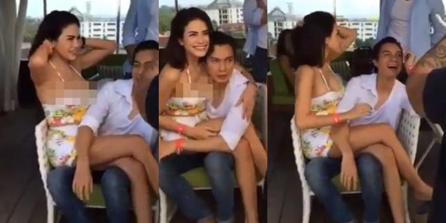 Foto dan Video Hot Nikita Mirzani dengan Baim Wong