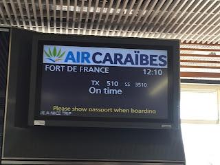 Avis compagnie aérienne Air Caraïbes Paris Fort de France