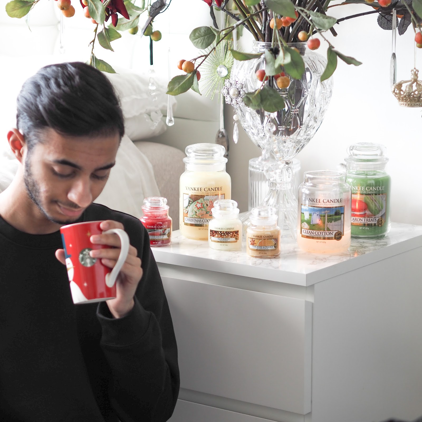 Festive Yankee Candle Review Salman Dean