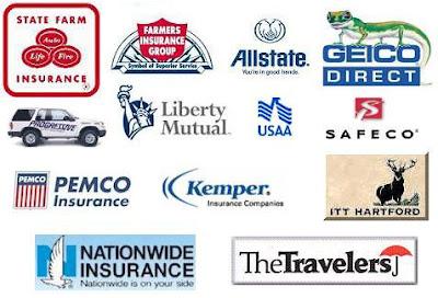 Car Insurance: Insurance Logos