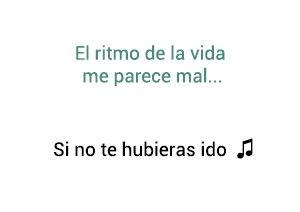 Marco Antonio Solís Los Bukis Si No Te Hubieras Ido significado de la canción.