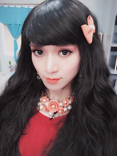 Boy To Girl Crossdresser from Vietnam