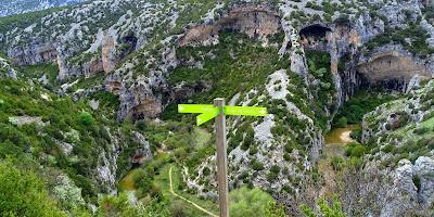 Canyon de Mascun à Rodellar Sierra de Guara