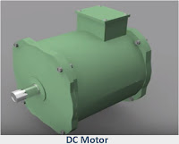 High rating and low rating DC motor