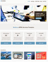 Home page Screen Shot for Responsive website Template