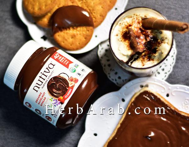 تجربتي مع وصفة حلى سهل وسريع شوكولاتة نوتيفا كاسات من اي هيرب