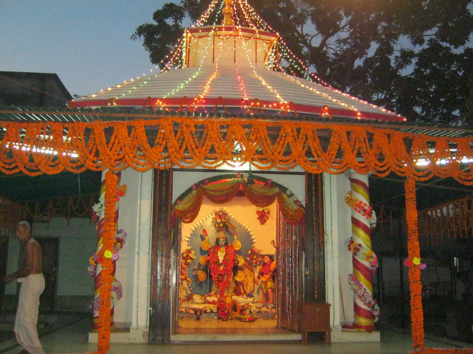 Kushmandi Thana Kali Puja temple