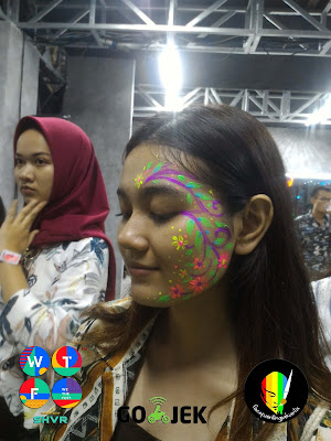 Face Painting Jakarta WTF18