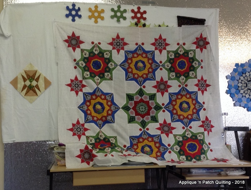 Applique n patch quilting: may garage day