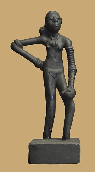The Art of Indus Valley/Dancing girl Of Mohenjo -Daro
