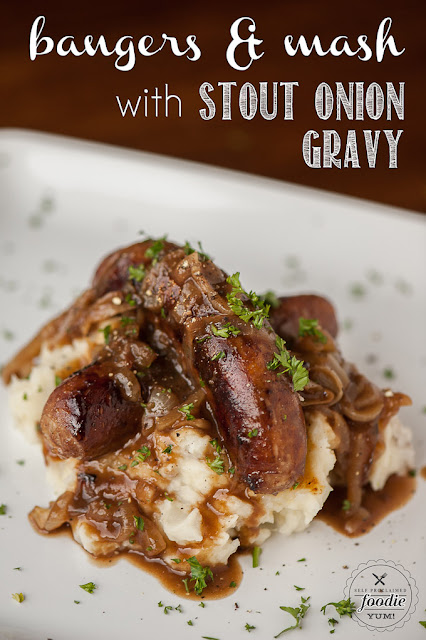 Bangers & Mash from Self Proclaimed Foodie