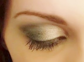 silver and gray eyeshadow