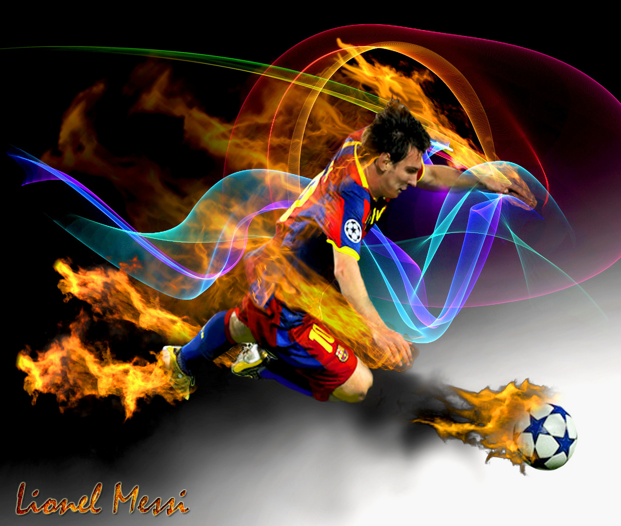 Lionel Messi Latest HD Wallpapers 2012-2013