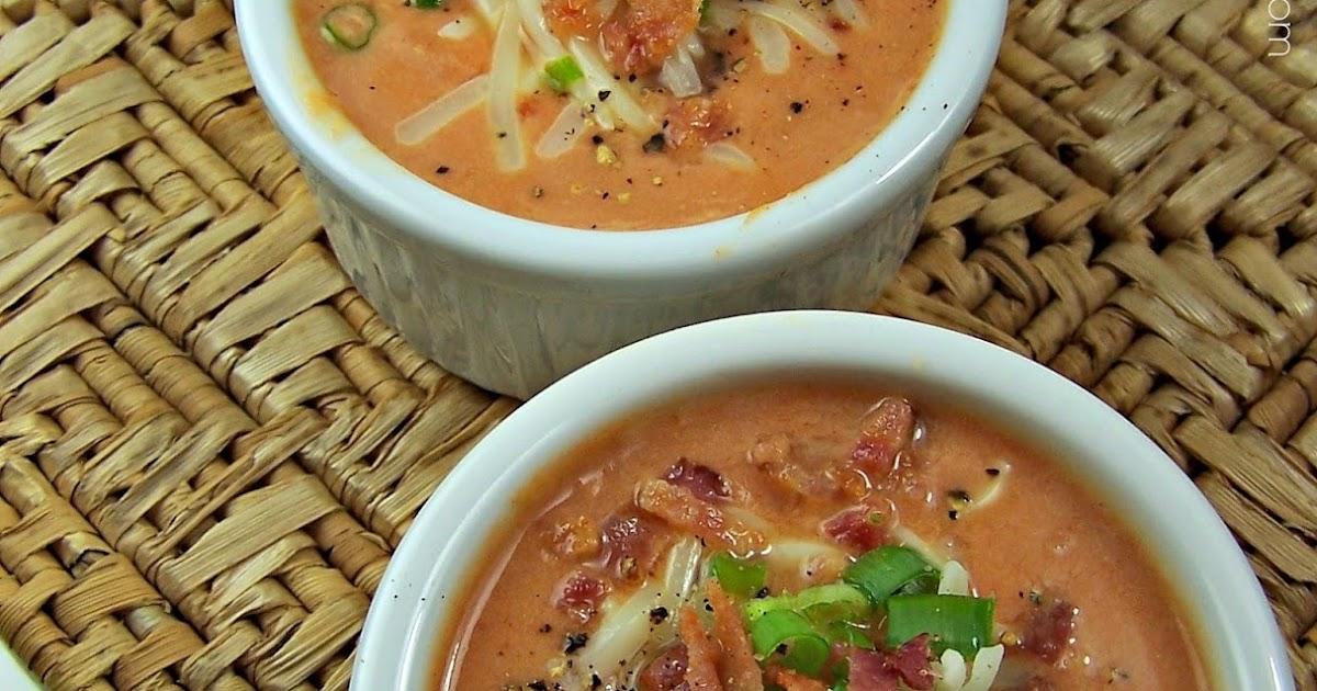 Olla-Podrida: Cream of Tomato Soup with Pumpkin Cream Of Tomato Soup With Garnish