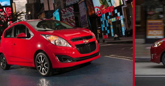 Chevrolet Spark Vs. Mitsubishi Mirage