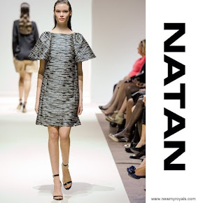 Queen Maxima Style NATAN Dress and NATAN Necklace