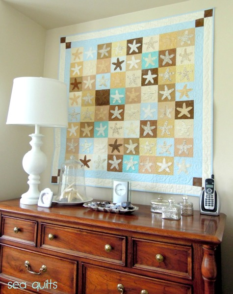 Coastal Quilts As Wall Hangings Coastal Decor Ideas And