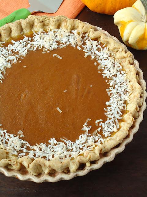 coconut pumkpin pie 5 Thanksgiving-Worthy Pies 13