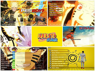 Textures Naruto Theme HD for PES PSP Android