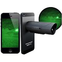 Lunette vision nocturne Snooperscope pour Smartphone
