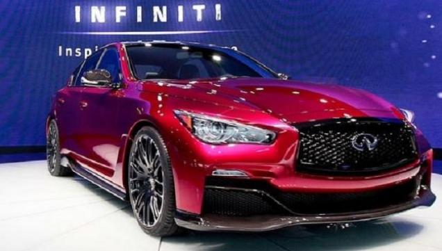 2017 Infiniti Q50 Exterior